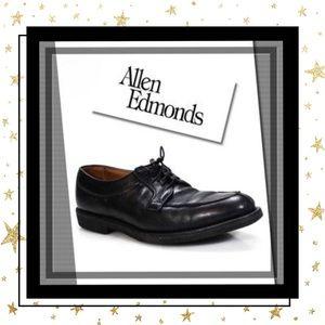 Allen Edmonds Men's Black Leather Oxford Shoes 9
